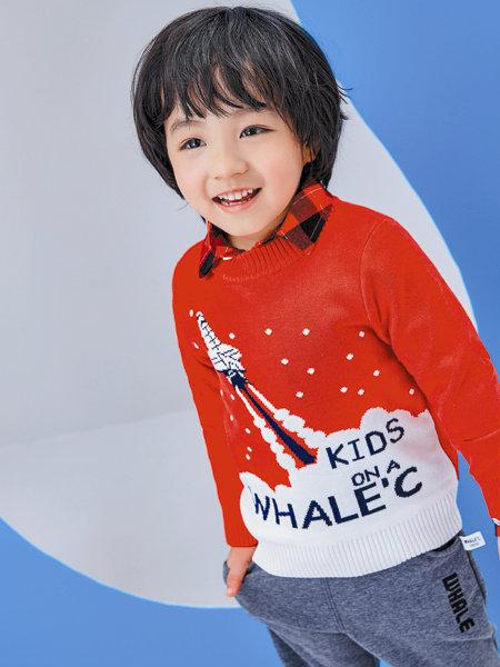 海威�童�b品牌2020冬季童真可�壑甭梳��衫