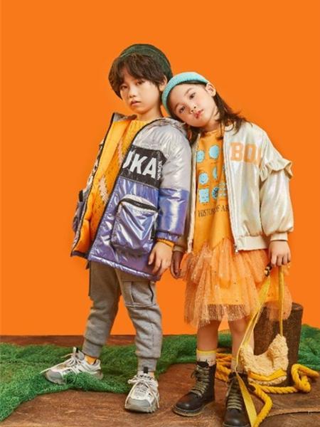 羽成扉童装品牌2020冬季韩版潮童个性羽绒服