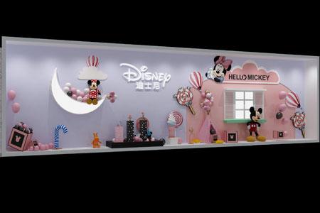 迪士尼店铺展示