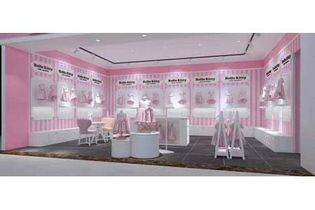 Hello Kitty店铺展示