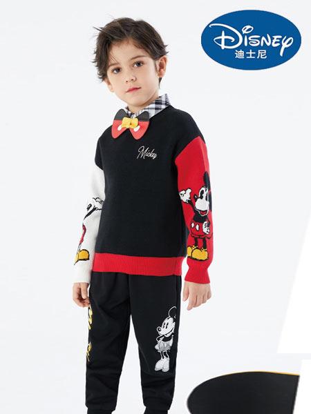 迪士尼Disney童装品牌2021春夏新品印花卫衣套装