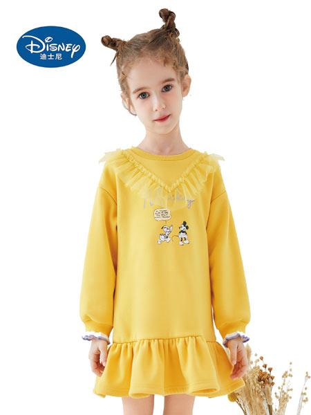 迪士尼Disney童装品牌2021春夏新品欧美纯棉短款裙