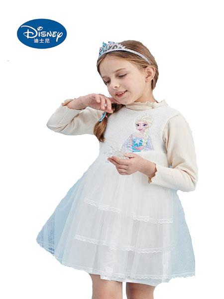迪士尼Disney童装品牌2021春夏新品公主背心裙