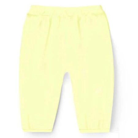 慧敏俊婴幼儿品牌2021春夏淡黄色裤子