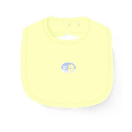 慧敏俊婴幼儿品牌2021春夏淡黄色围兜