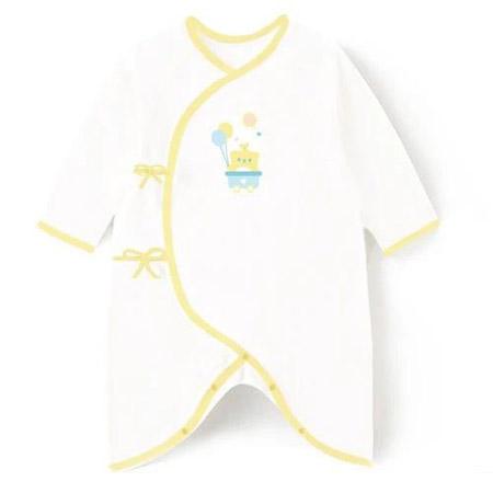 慧敏俊婴幼儿品牌2021春夏白色连体裤