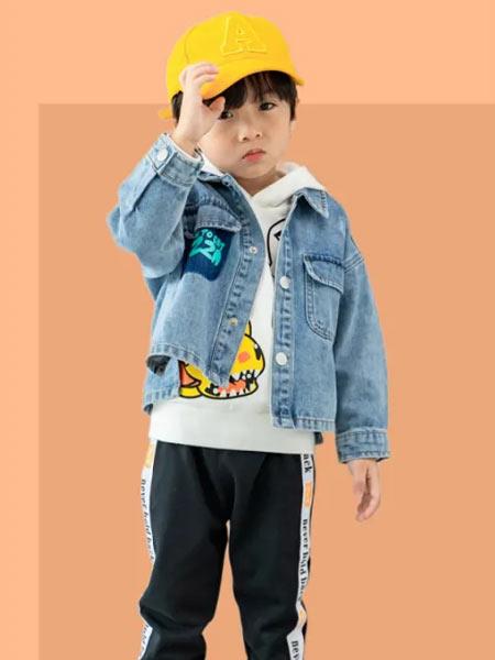 德蒙斯特童装品牌2021春夏牛仔休闲外套潮童