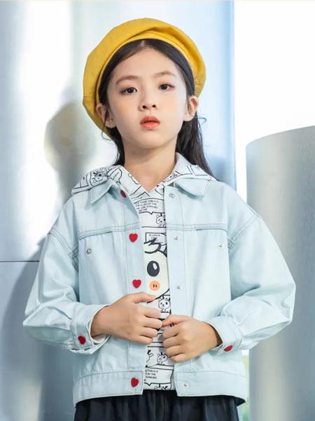 德蒙斯特童装品牌2021春夏韩版牛仔休闲外套