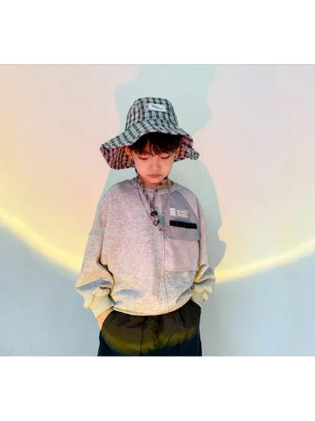 糖麦卡童装品牌2021春夏潮童绅士连休闲套装