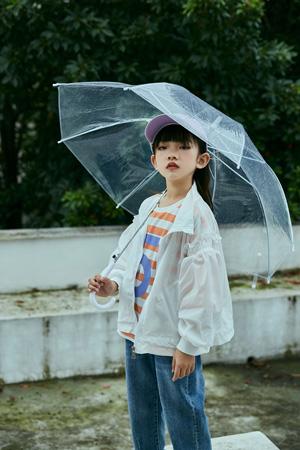 洛小米童装品牌2021春夏薄款外套