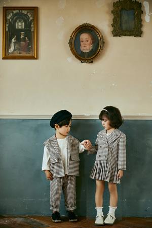 洛小米童装品牌2021春夏西装外套