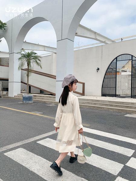 UZUM童装品牌2021春夏连衣裙公主韩版