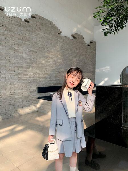 UZUM童装品牌2021春夏套装长袖