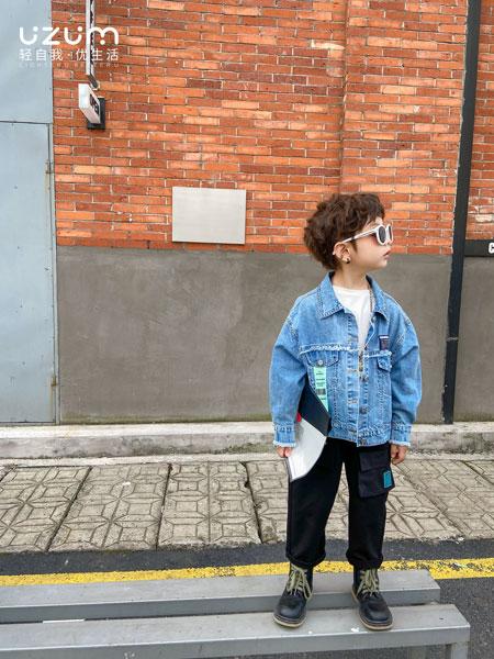 UZUM童装品牌2021春夏长袖夹克休闲外套