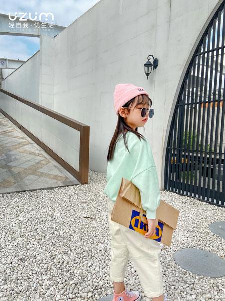 UZUM童装品牌2021春夏长袖纯棉