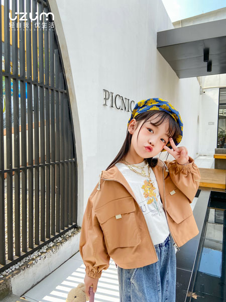 UZUM童装品牌2021春夏长袖休闲外套