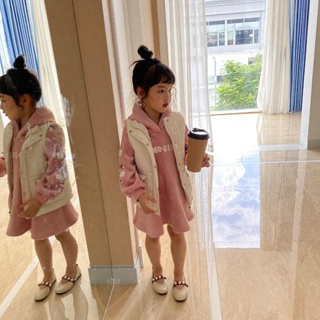 提莫布丁童装品牌2021秋冬卫衣马甲