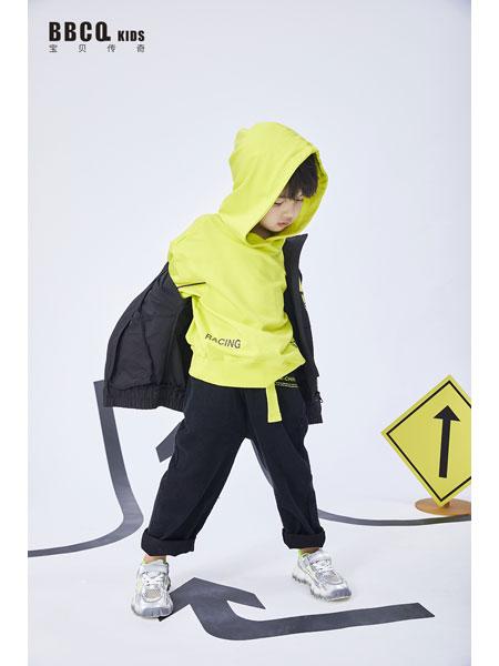 宝贝传奇童装品牌2021春夏长袖纯棉