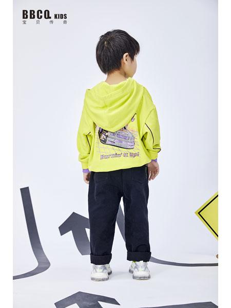 宝贝传奇童装品牌2021春夏纯棉长袖