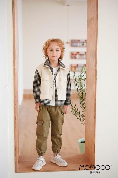 MOMOCO童装品牌2021春夏外套