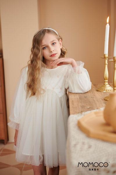 MOMOCO童装品牌2021春夏纱裙
