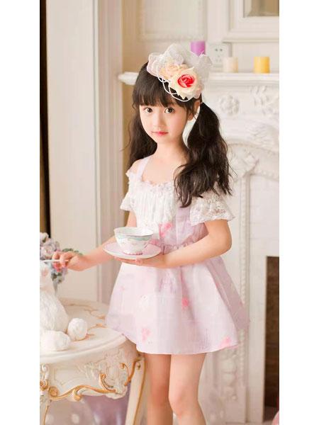 宾果童话童装品牌2021春夏公主连衣裙