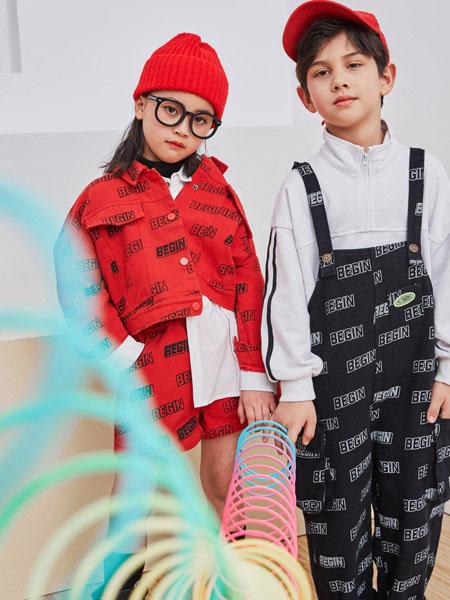 田果果童装品牌2021春夏不规则吊带服装
