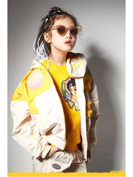 李宁童装品牌2021春夏长袖休闲外套
