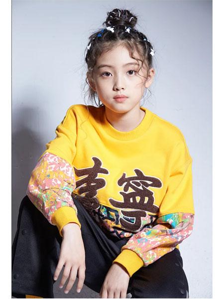 李宁童装品牌2021春夏纯棉长袖