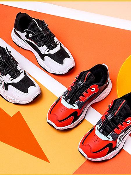 李宁童装品牌2021春季运动鞋