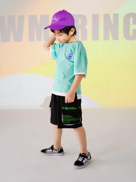 西瓜王子童装品牌2021春夏宽松短裤