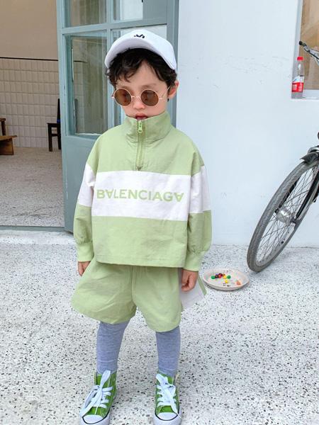 宾果童话童装品牌2021春夏运动套装