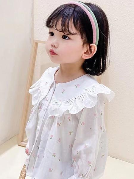 123童装童装品牌2021春夏小碎花上衣