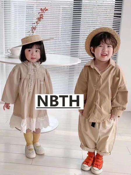 努吡童话童装品牌2021春夏宽松连衣裙