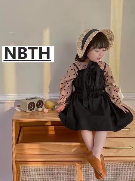 努吡童话童装品牌2021春夏是身吊带雪纺套裙