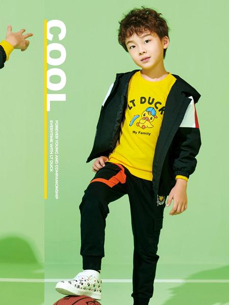 小黄鸭青少年童装品牌2021春夏户外外套