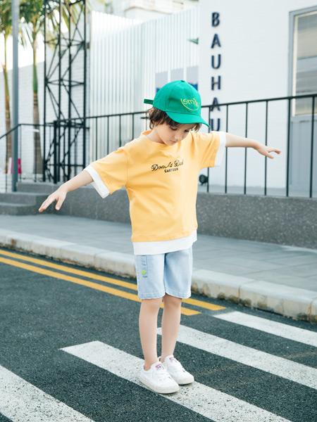 迪士汤姆童装品牌2021春夏简约上衣