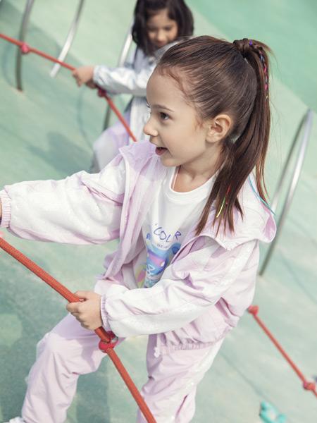 小才宝MT童装品牌2021春夏新品运动套装
