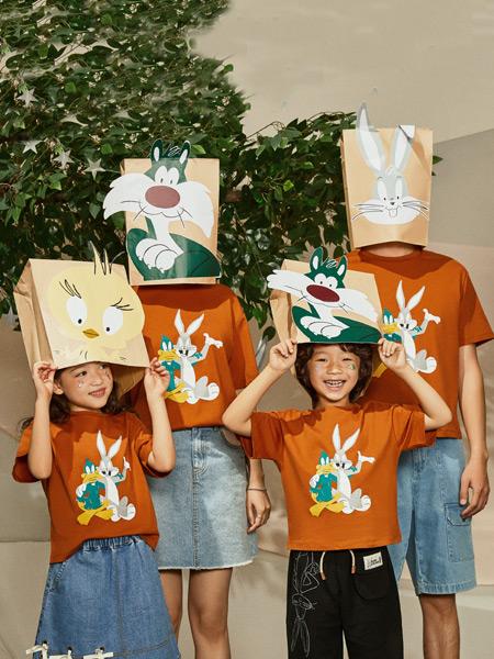 Moomoo童装品牌2021春夏兔子家庭装