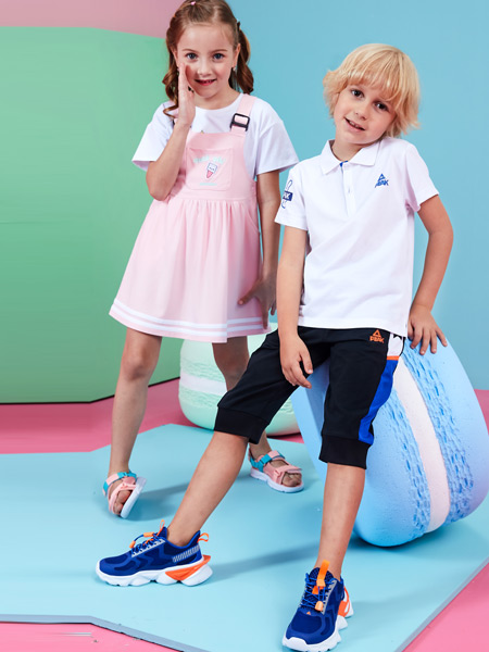 匹克PEAK KIDS童鞋品牌2021春夏软底弹性运动鞋