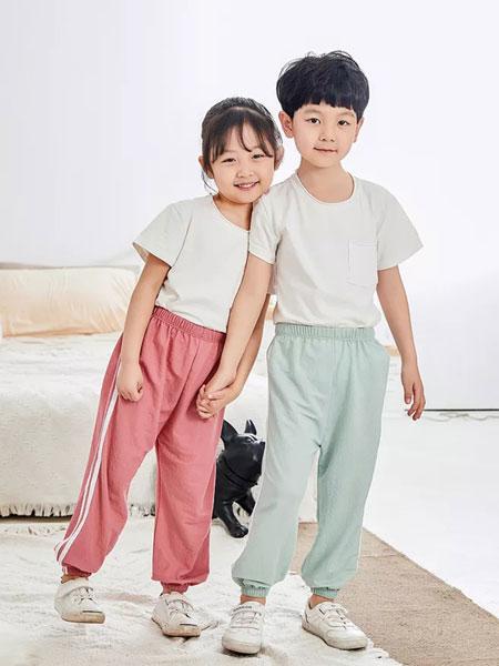 宾果童话童装品牌2021春夏纯色百搭上衣