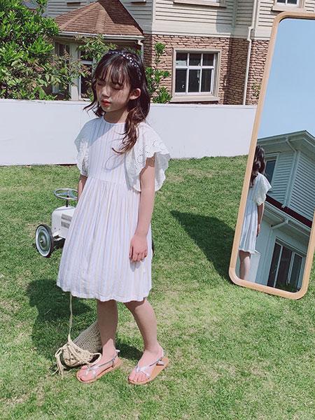 小嗨皮童装品牌2021春夏慵懒长裙