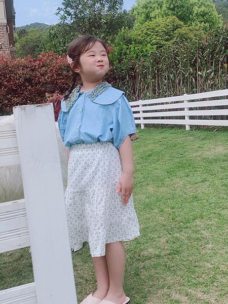 小嗨皮童装品牌2021春夏休闲套裙