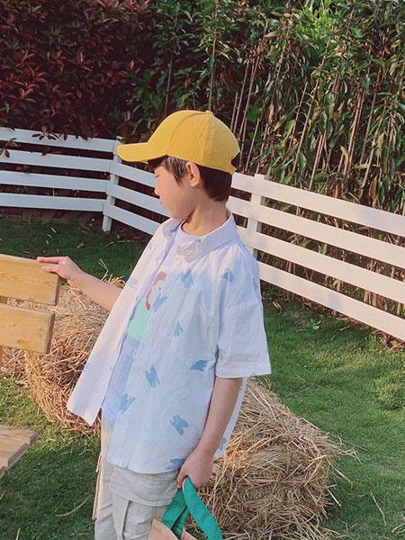 小嗨皮童装品牌2021春夏休闲外套