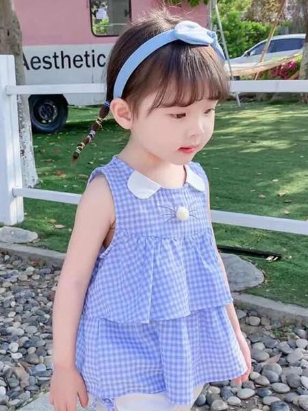 佰宝糖 BIBATOWN童装品牌2021春夏甜美连衣裙