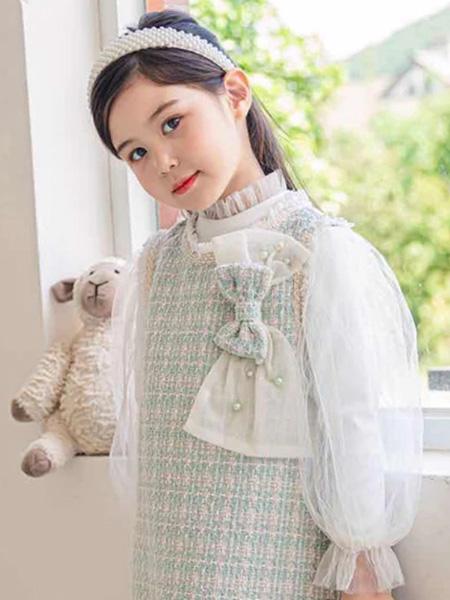 佰宝糖 BIBATOWN童装品牌2021春夏淑女裙