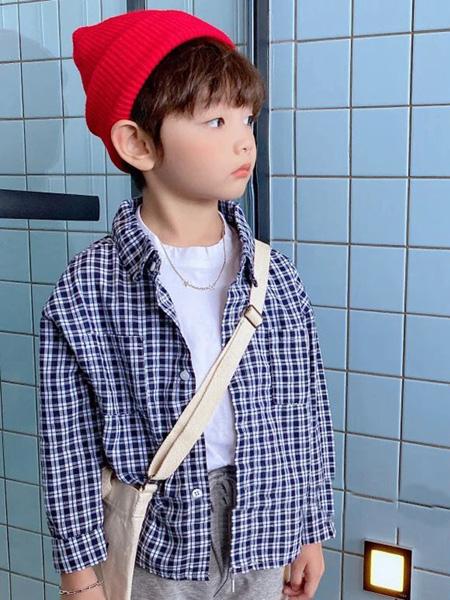 佰宝糖 BIBATOWN童装品牌2021春夏格子衬衫