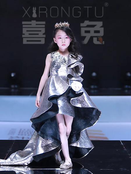 喜绒兔童装品牌2021春夏高冷公主礼服