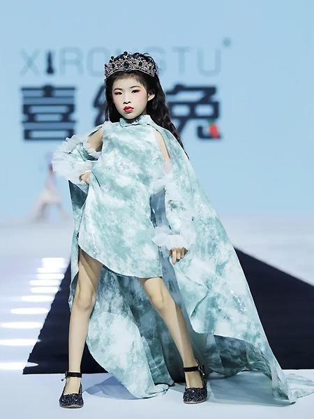 喜绒兔童装品牌2021春夏气质礼服