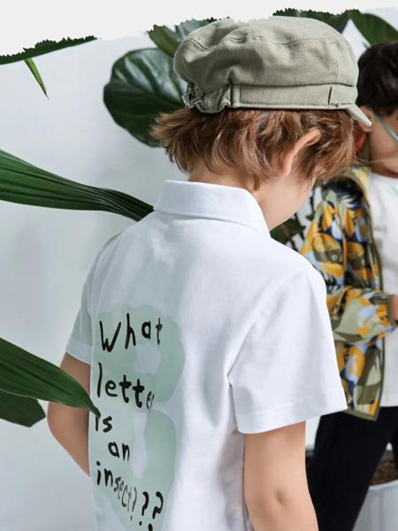 小才宝MT童装品牌2021春夏印字母外衣